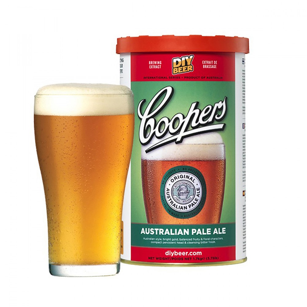 Per La Produzione Di Birra Tipo  Australian Pale Ale  Dal Colore Dorato. Questo Tipo Di Birra è La Più Consumata In Australia! La Sua Combinazione Di Orzo, Luppolo E Lievito Rilascia Un Gusto Leggermente Fruttato E Floreale, Bilanciato Da Un Vivace Retrogusto Amaro. Questo Kit Include Estratto Di Malto, Luppolo E Lievito.