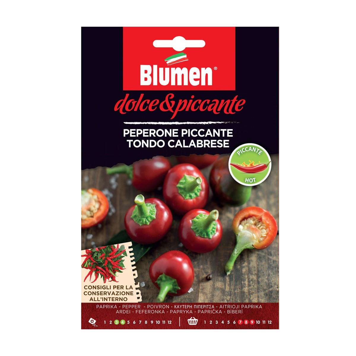 Semi Peperone Piccante Calabrese