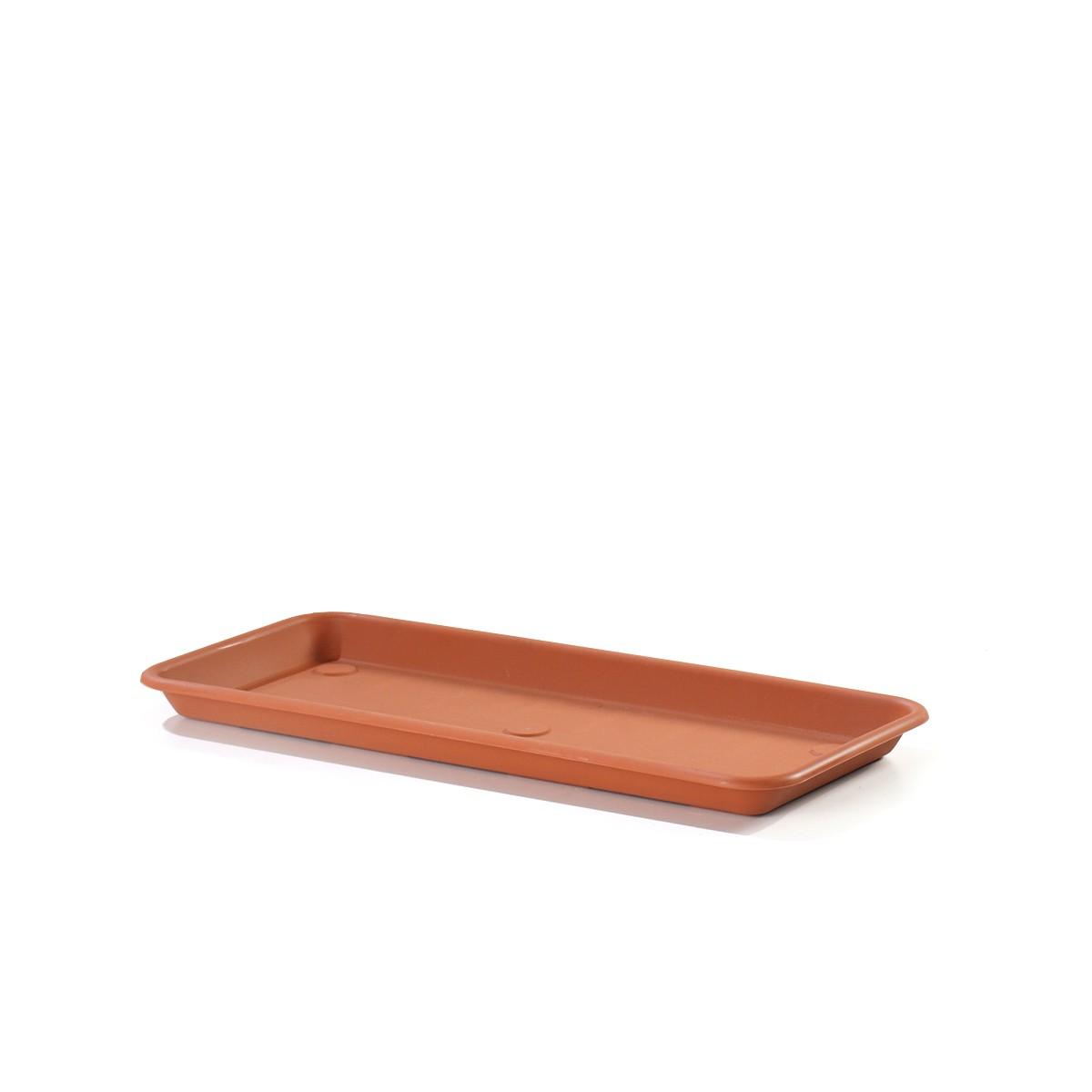 Sottovaso Rettangolare Omnia Terracotta