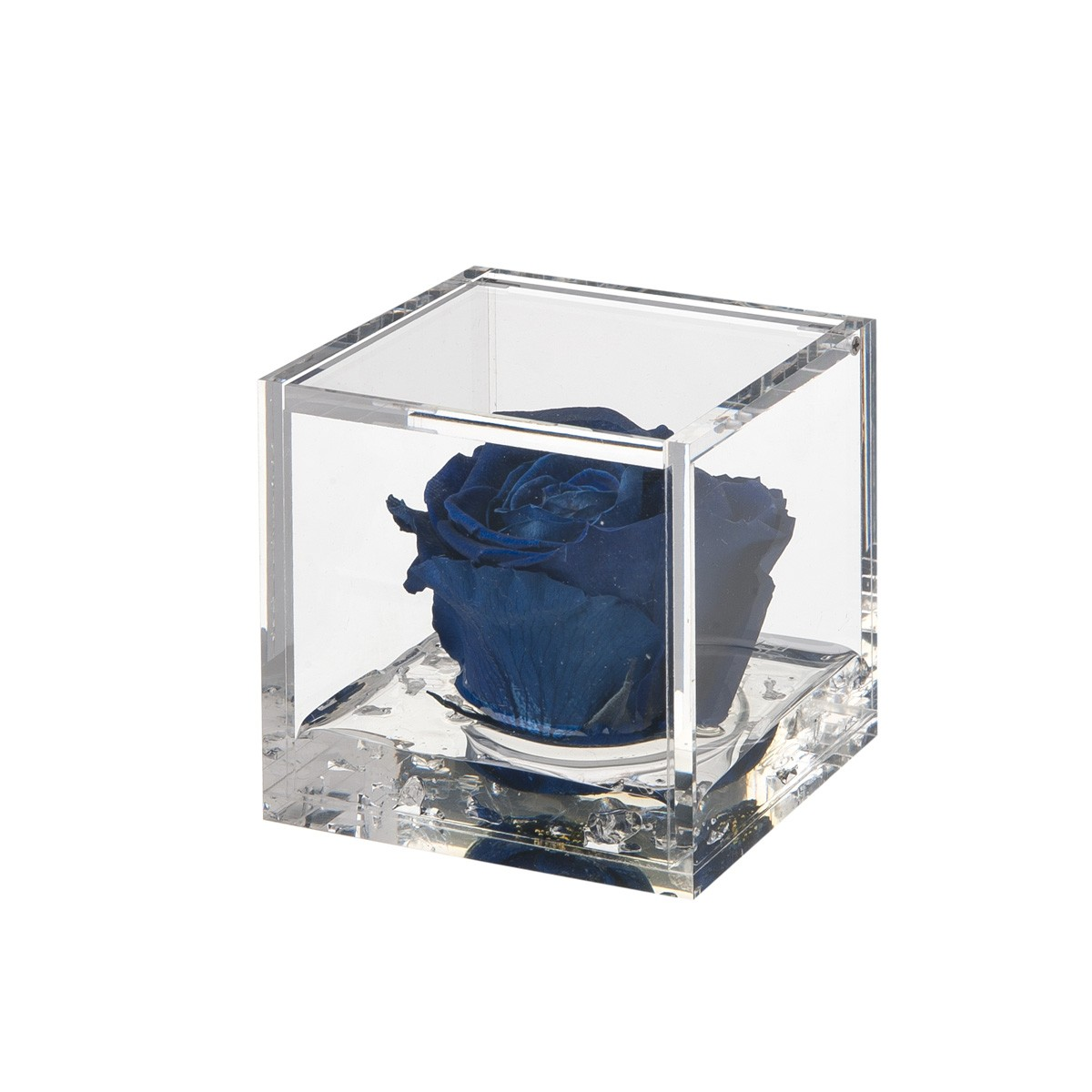 Flowercube Rosa Blu 8x8