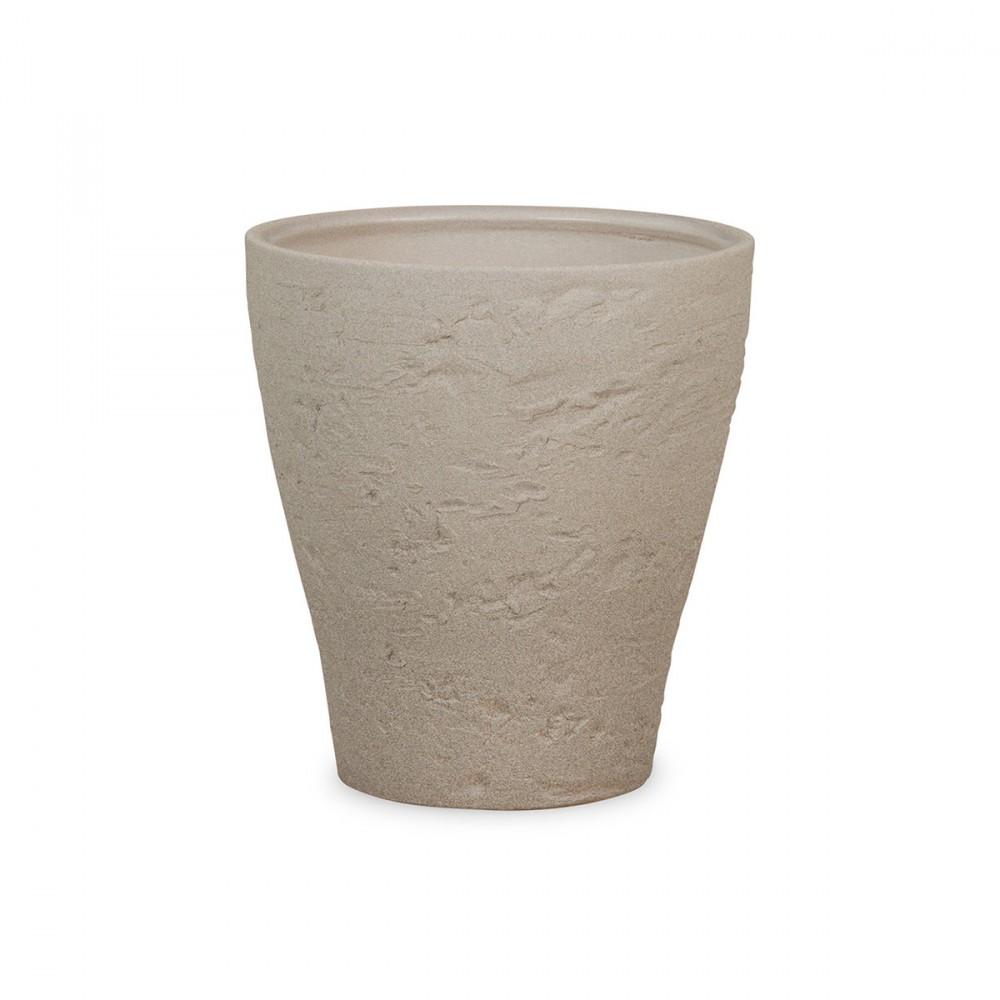Questo Vaso Per Orchidee Vanta Un Design Che Attira L'attenzione Degli Appassionati Di Ceramiche Per La Sua Struttura A Scanalatura Irregolare. Si Adatta A Molte Orchidee E Piante Verdi O In Fiore.