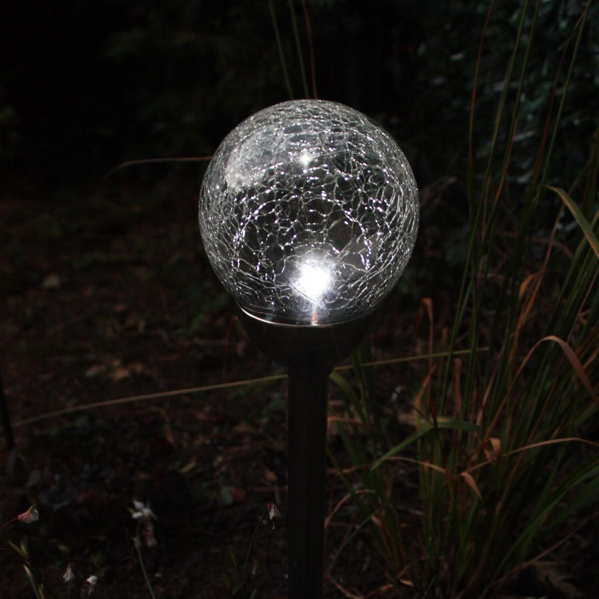 Lampada Solare Perle De RosÈe 12cm