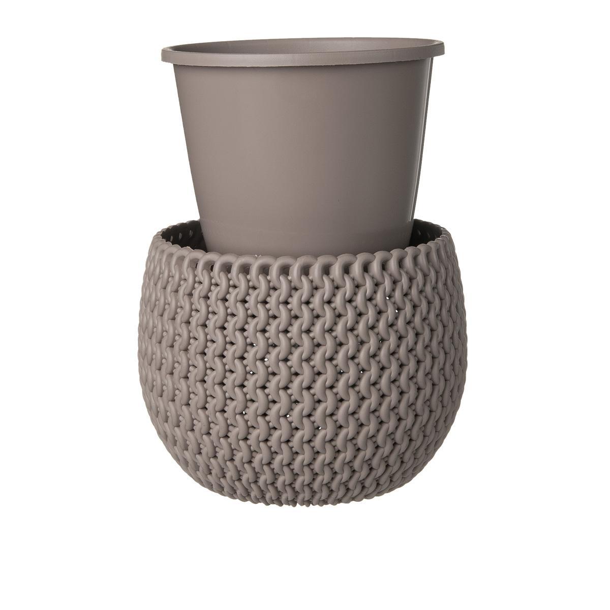 Vaso Con Inserto Splofy Sabbia