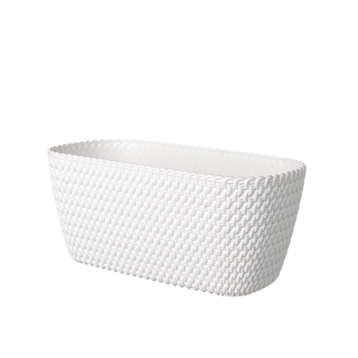Coprivaso Rettangolare Splofy Bianco