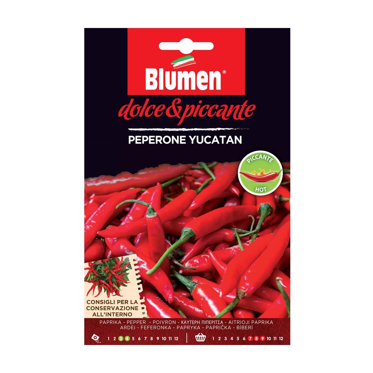 Semi Peperone Yucatan