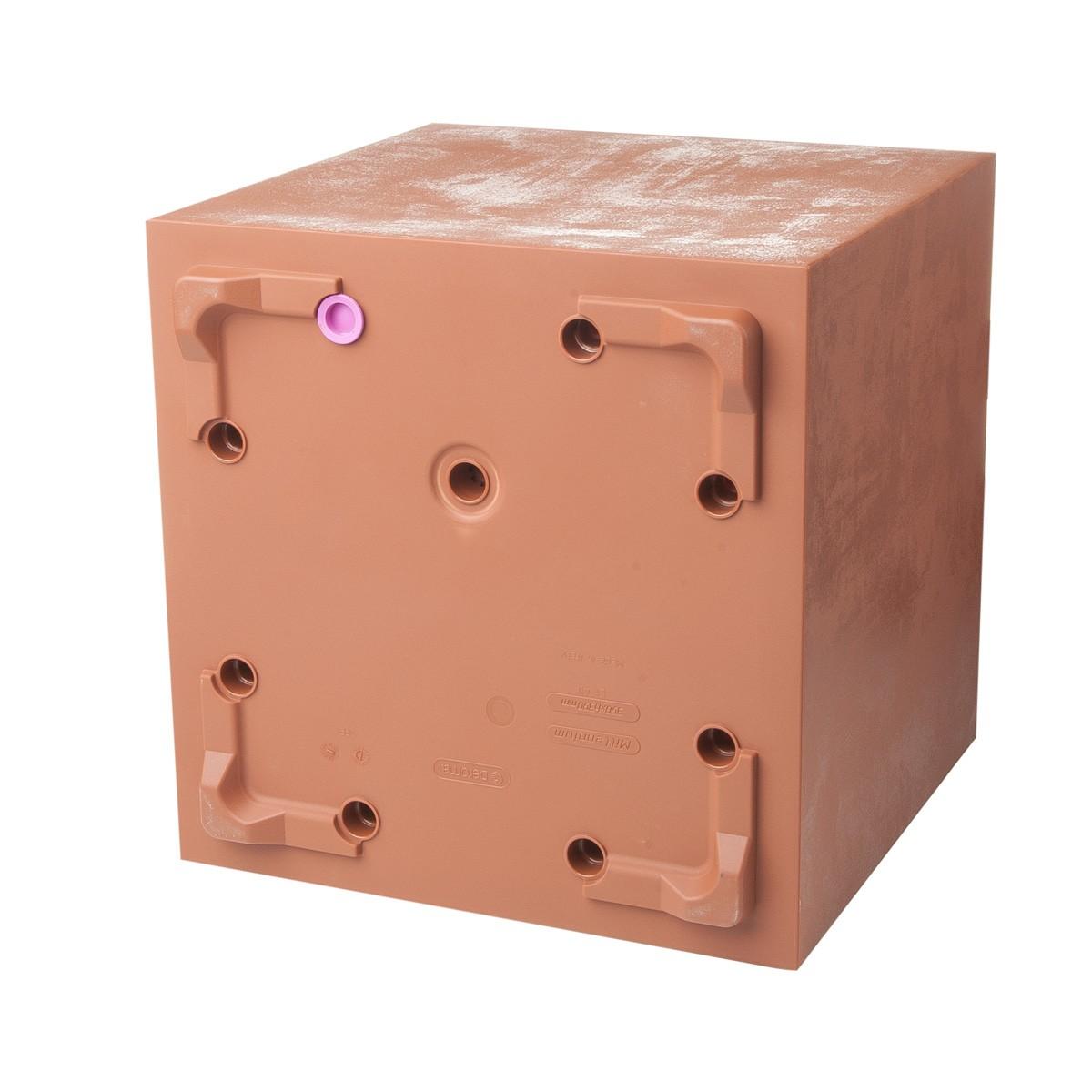 Cubo Millennium Corten