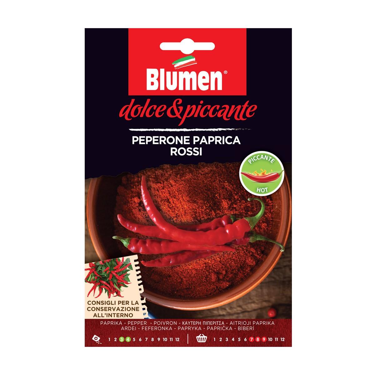 Semi Peperone Paprica Rosso