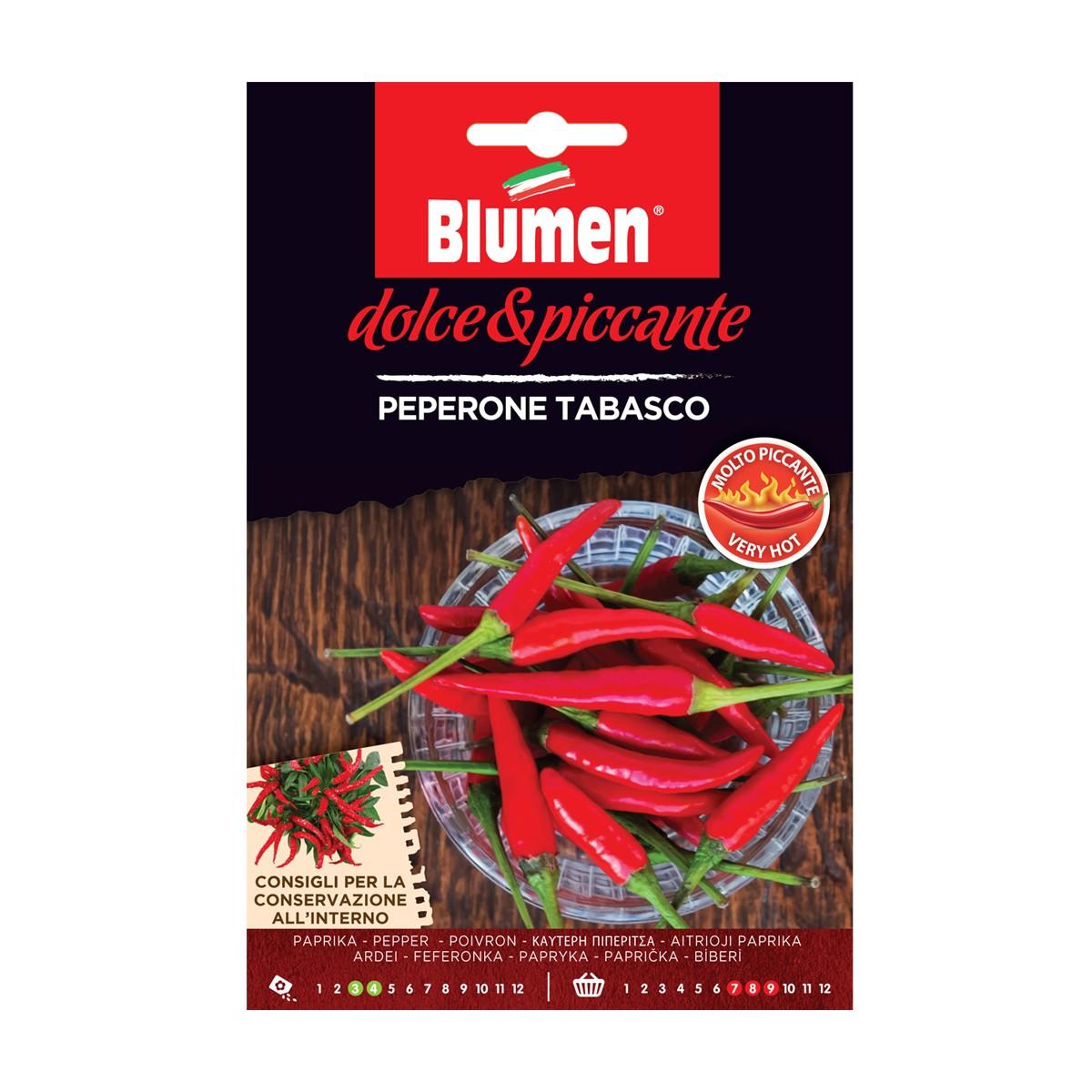 Semi Peperone Tabasco