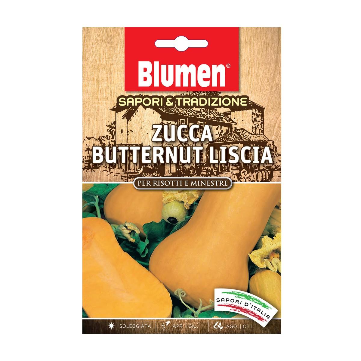 Semi Zucca Butternut Liscia