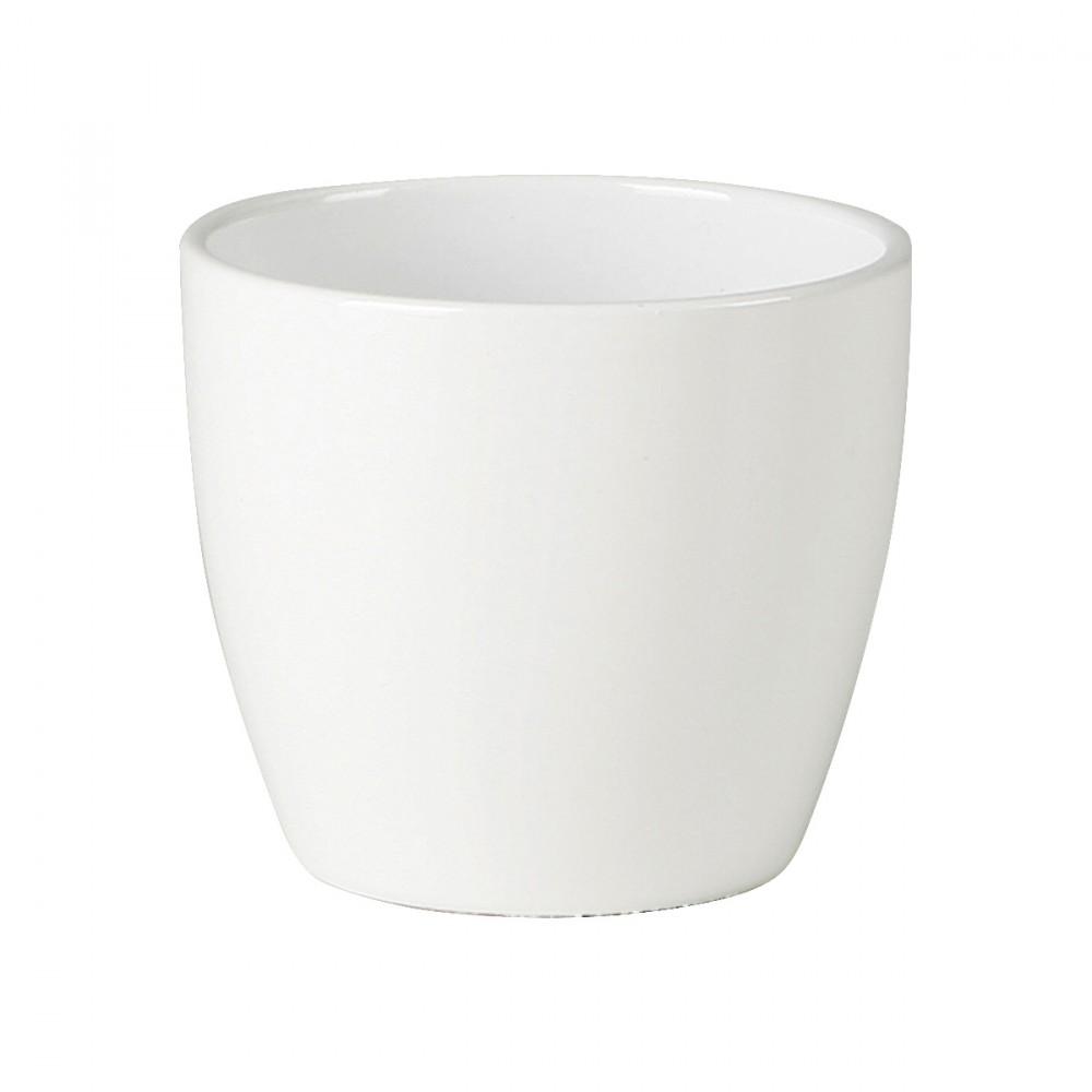 Vaso Bianco Semplice E Minimal Perfetto Per Decorare Casa.