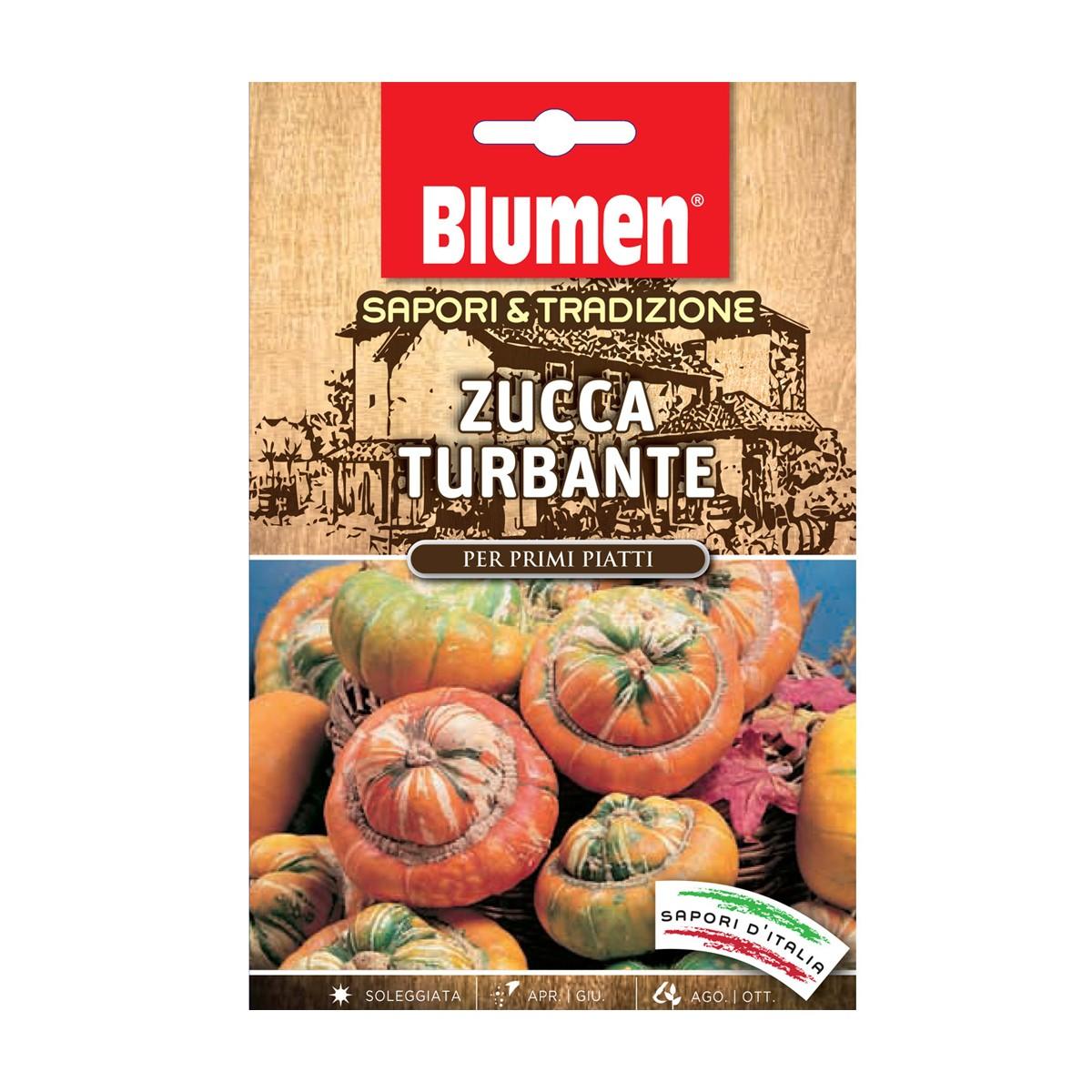 Semi Zucca Turbante
