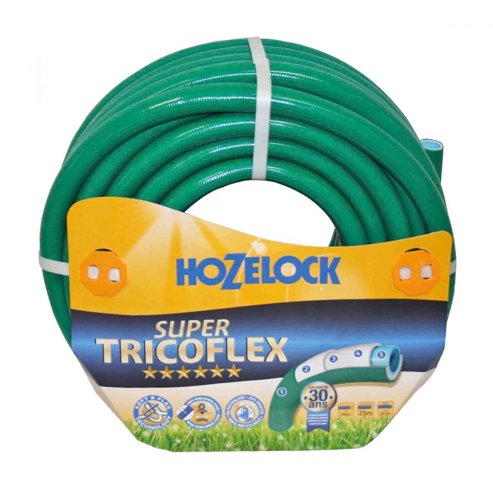 Tubo Super Tricoflex Ultimate Di Hozelock-exel Adatto All'utilizzo Intenso. Ha Una Lunghezza Di 25 Metri E Un Diametro Di 19 Mm, è Il Tubo Non Plus Ultra, Ultraleggero, Flessibile E Robusto. E' Privo Di Plastificanti Nocivi (pet) E Metalli Pesanti.
