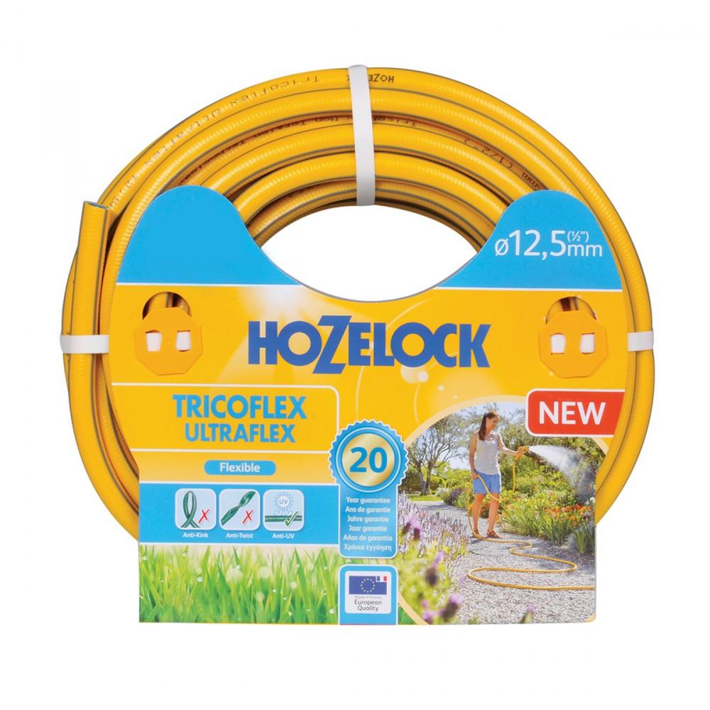Tricoflex Extraflex Di Hozelock-exel è Un Tubo Extra Flessibile Con Diametro 12,5 Mm. La Sua Tecnologia  Tricoflex  Garantisce Una Grande Resistenza Senza Compromettere La Flessibilità. Leggero E Maneggevole, Facile Da Usare In Giardino E Spostare. Garantito 20 Anni.