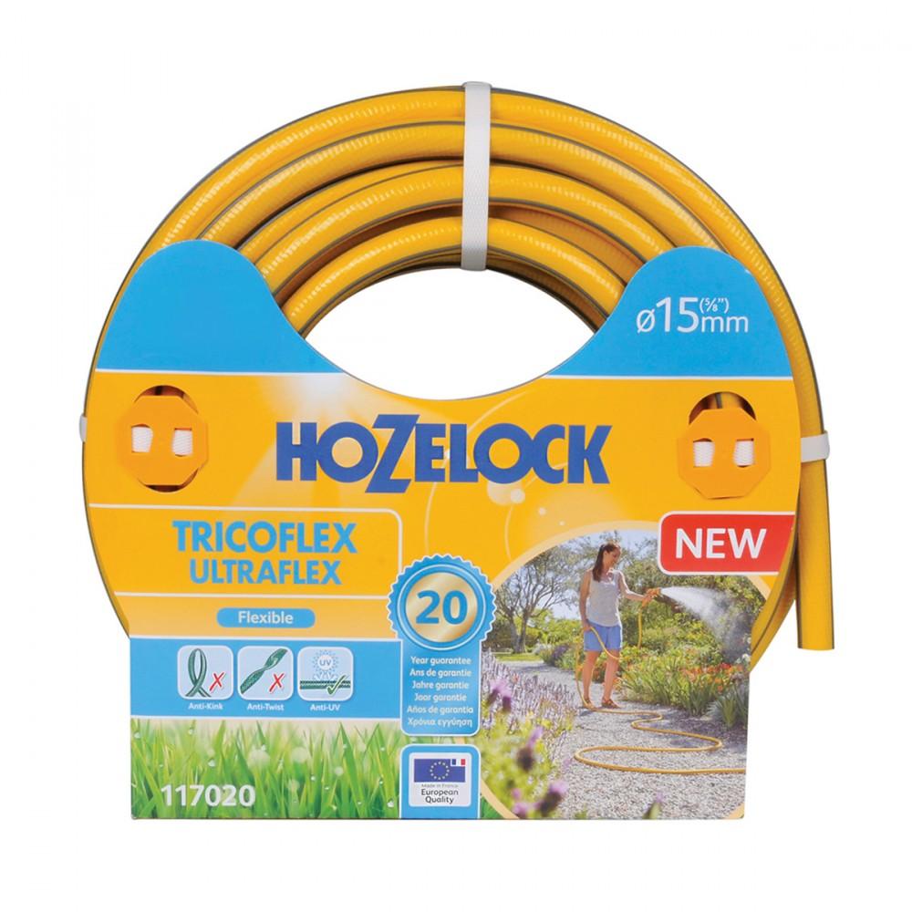 Tricoflex Extraflex Di Hozelock-exel è Un Tubo Extra Flessibile Con Diametro 15 Mm. La Sua Tecnologia  Tricoflex  Garantisce Una Grande Resistenza Senza Compromettere La Flessibilità. Leggero E Maneggevole, Facile Da Usare In Giardino E Spostare. Garantito 20 Anni.
