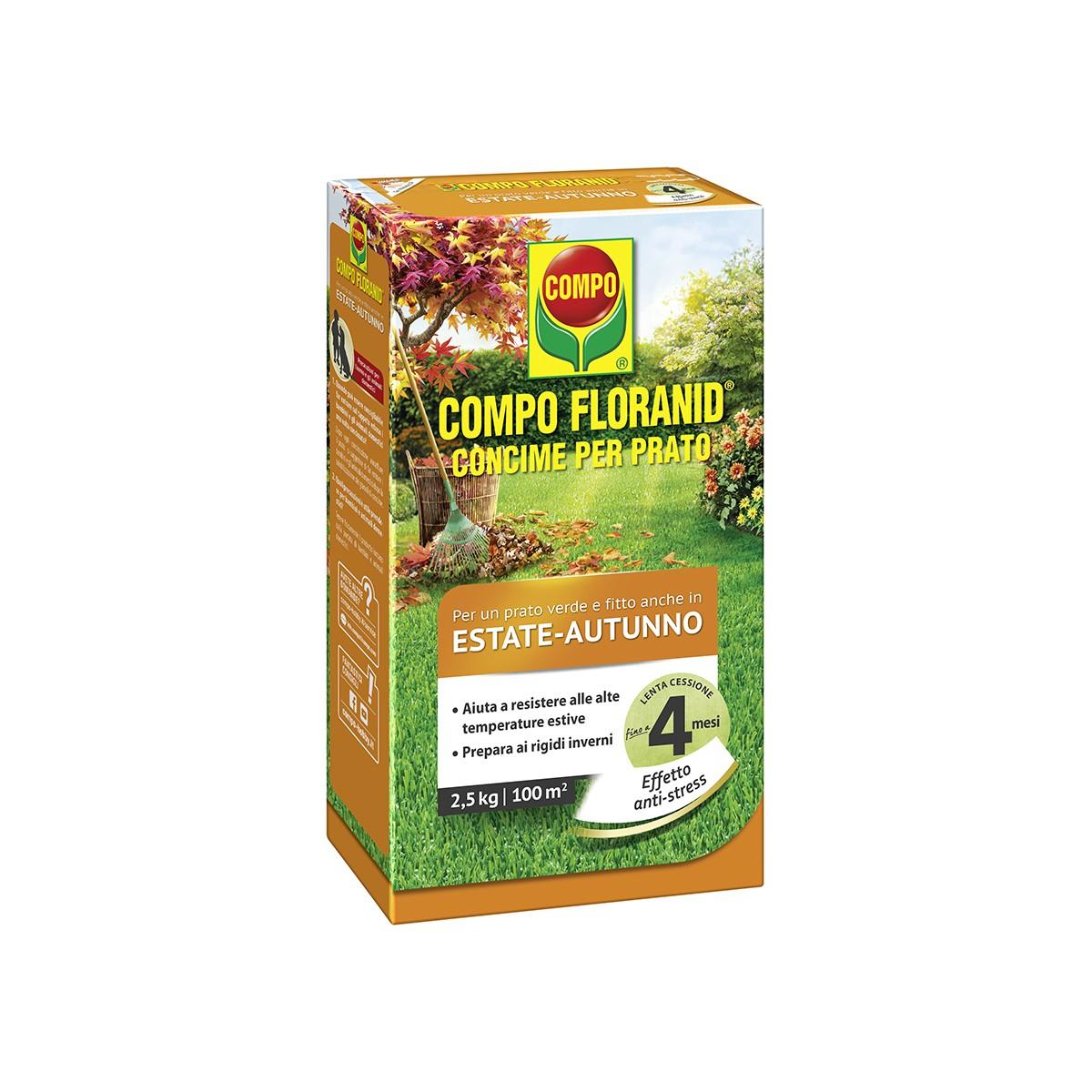 Concime Floranid Estate / Autunno 2,5 Kg