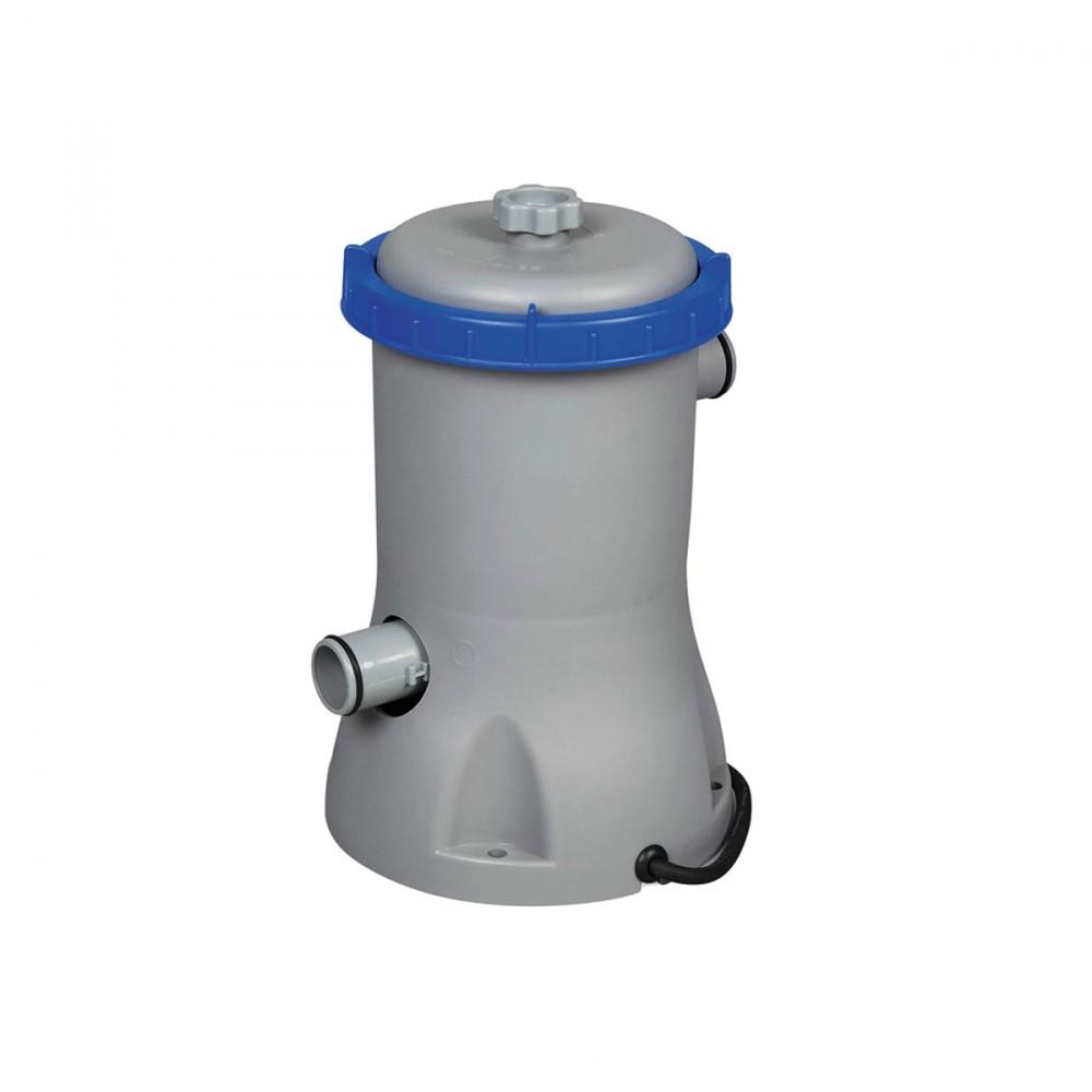 Questa Pompa Filtro Ha Una Portata Di 3.028 L/h. Usa Cartuccia Di Tipo Ii. Da Utilizzare Con Piscine Da 1.100 - 17.400 Litri.