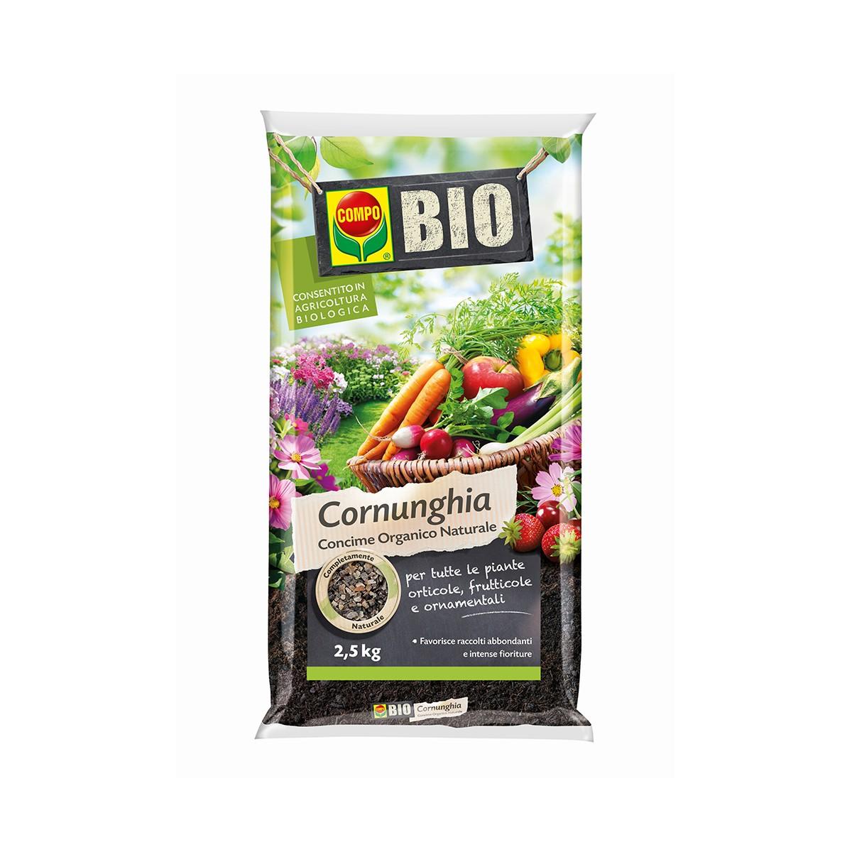 Concime Bio Cornunghia 2,5 Kg