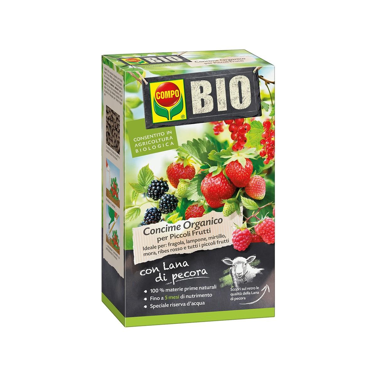 Concime Bio Con Lana Di Pecora Per Piccoli Frutti