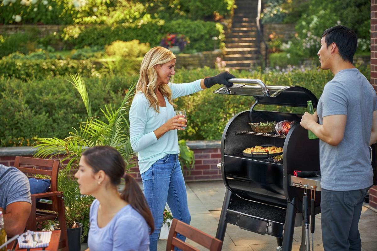 Smokefire Ex4 Gbs Barbecue A Pellet