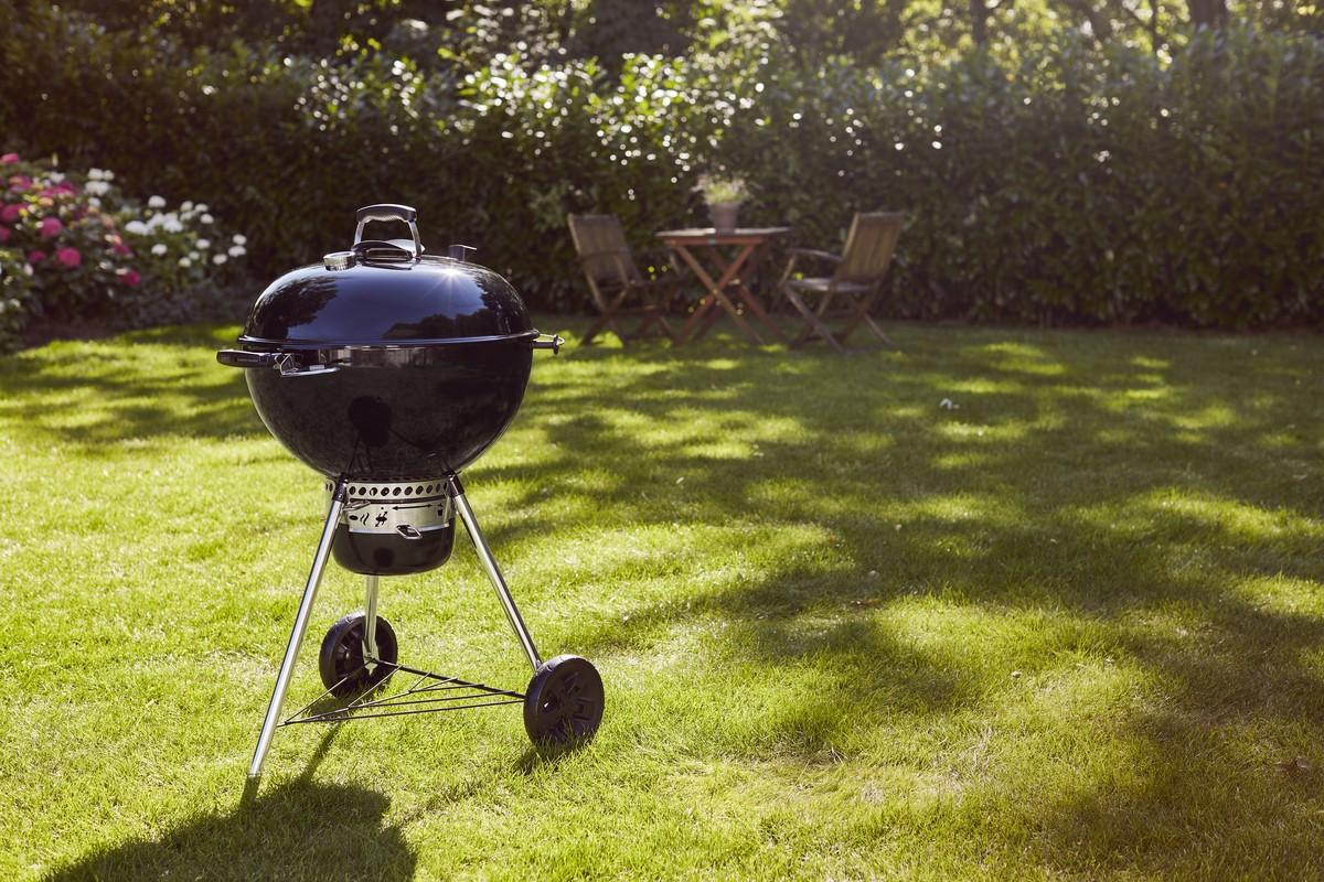 Master-touch Gbs E-5750 Barbecue A Carbone Nero Diam. 57