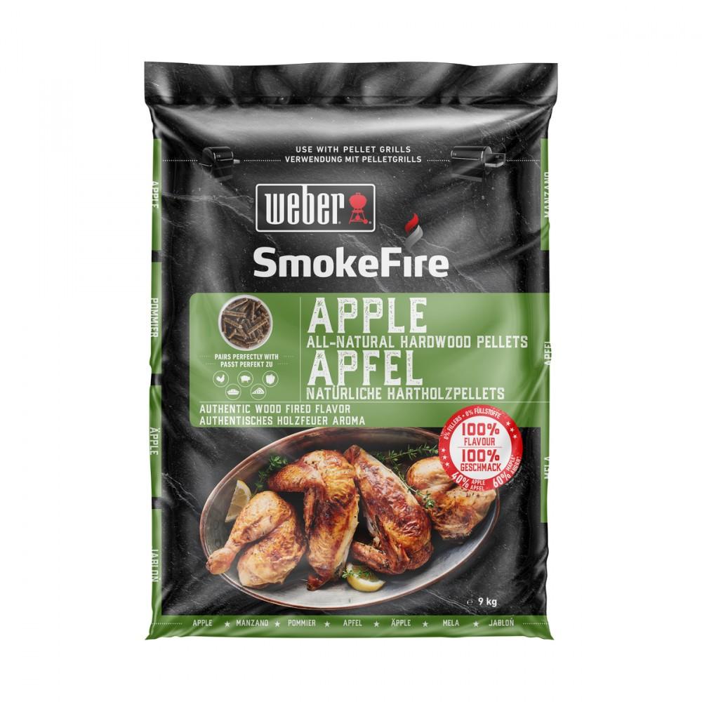 Il Pellet Smokefire Di Weber Assicura Un Delizioso Aroma Di Barbecue, Senza L'aggiunta Di Additivi. E' Ideale Per Esaltare Il Sapore Degli Alimenti Con L'autentico Gusto Della Cottura Con La Legna.