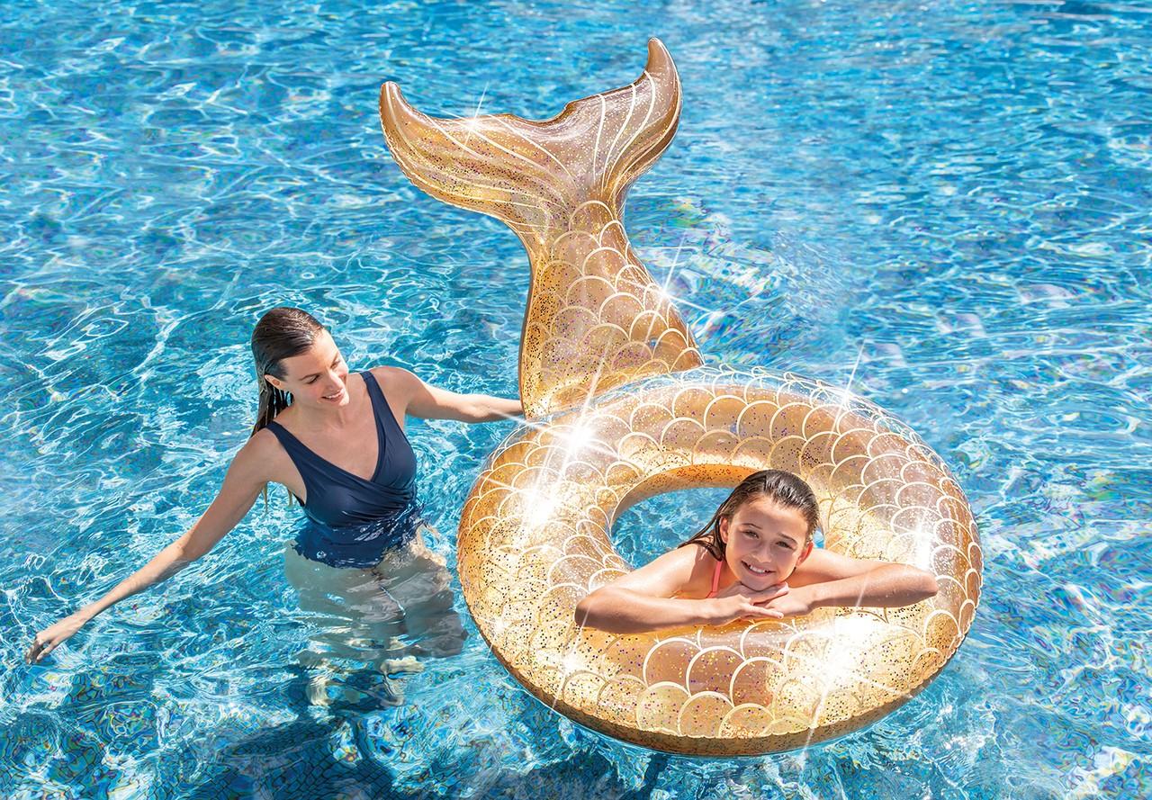 Salvagente Sirena Con Glitter
