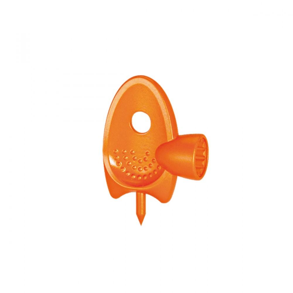 """Questa Speciale Fustella Serve A Praticare Sul Tubo Collettore Un Foro Dell'esatto Diametro Del Tubo Capillare E Ad Installare E Regolare I Microirrigatori. Dal Design Ergonomico,può Forare Il Tubo Collettore Da 1/2"""" (13 - 16 Mm). Serve Anche Ad Avvitare E Regolare I Microirrigatori."""