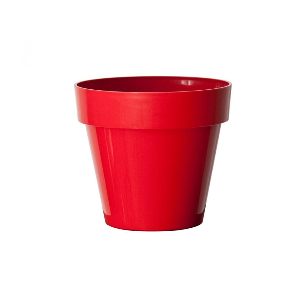 Vaso In Plastica Opaca Modello Mitu, Di Euro3plast. Dalle Linee Giovani E Essenziali, è L'elemento Giusto Per Arredare Ambienti Di Casa. E' Un Vaso Di Diverse Dimensioni E Versatile.