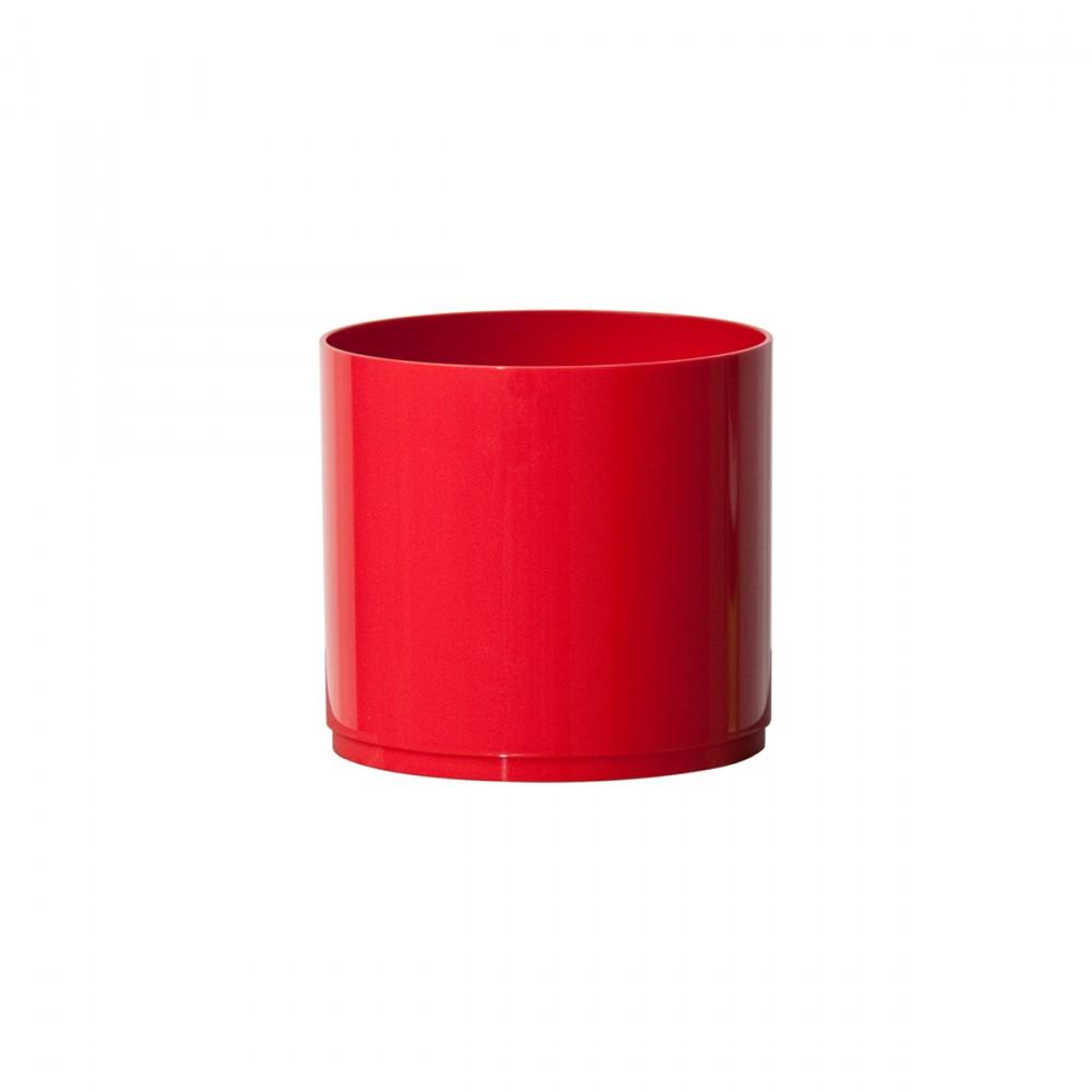Coprivaso In Plastica Lucida Modello Miu. Questo Modello Di Euro3plast,  è Carattarizzato Dai Colori Vivaci E Dalle Linee Giovani. Versatile, è Un Coprivaso Versatile, Utile Per Personalizzare Qualsiasi Ambiente.
