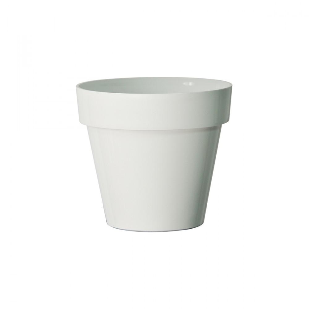 Vaso In Plastica Opaca Modello Mitu Pac, Di Euro3plast. Dalle Linee Giovani E Essenziali, è L'elemento Giusto Per Arredare Ambienti Interni Ed Esterni. E' Un Vaso Di Diverse Dimensioni E Versatile.