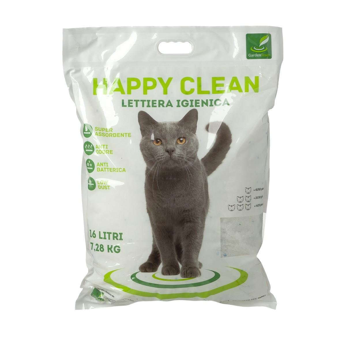Happy Clean Lettiera In Silicio 16 L
