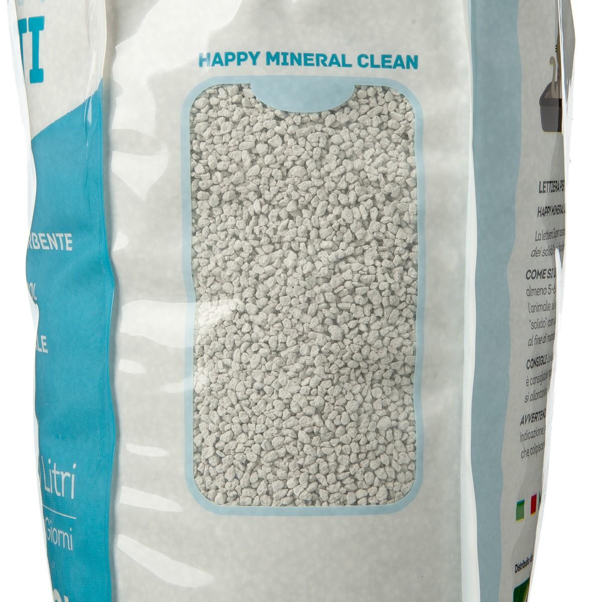 Happy Mineral Clean Lettiera 10 L