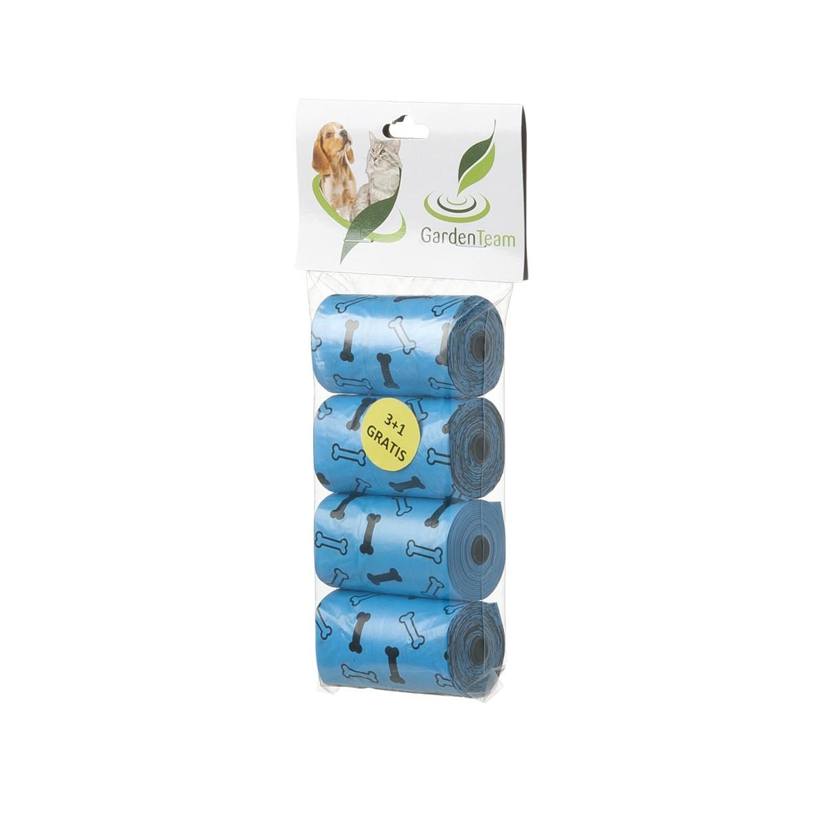 Sacchettini Igienici Ecologici Azzurri 4 Rotoli