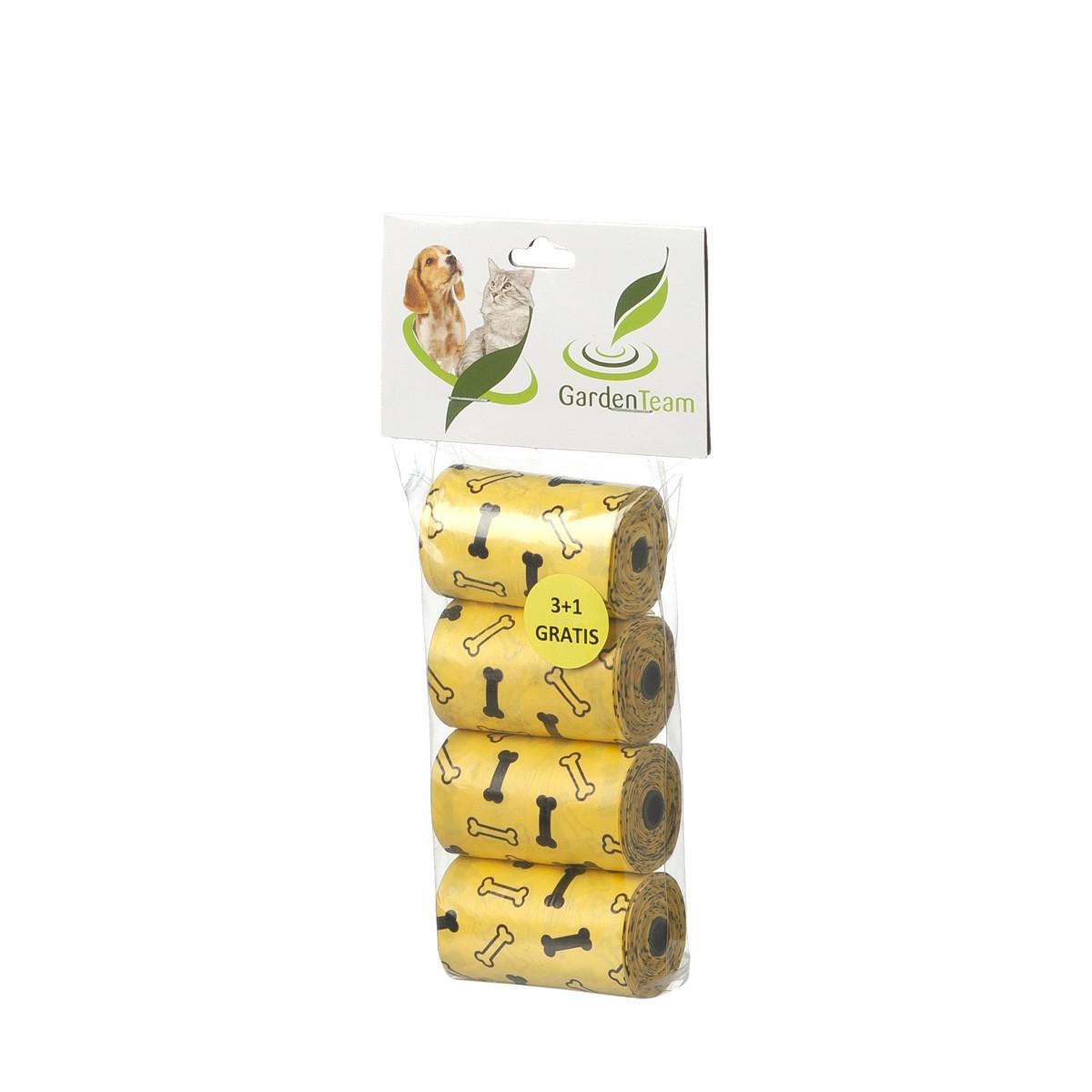 Sacchettini Igienici Ecologici Assortito Arancio/giallo 4 Rotoli