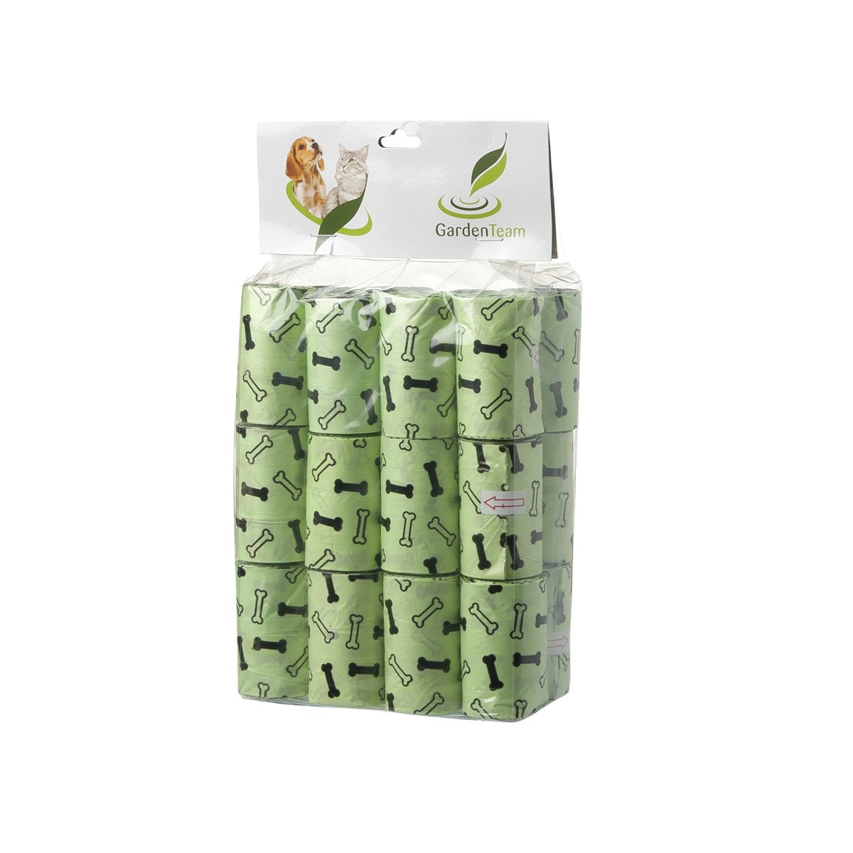 Sacchettini Igienici Ecologici Verde 24 Rotoli