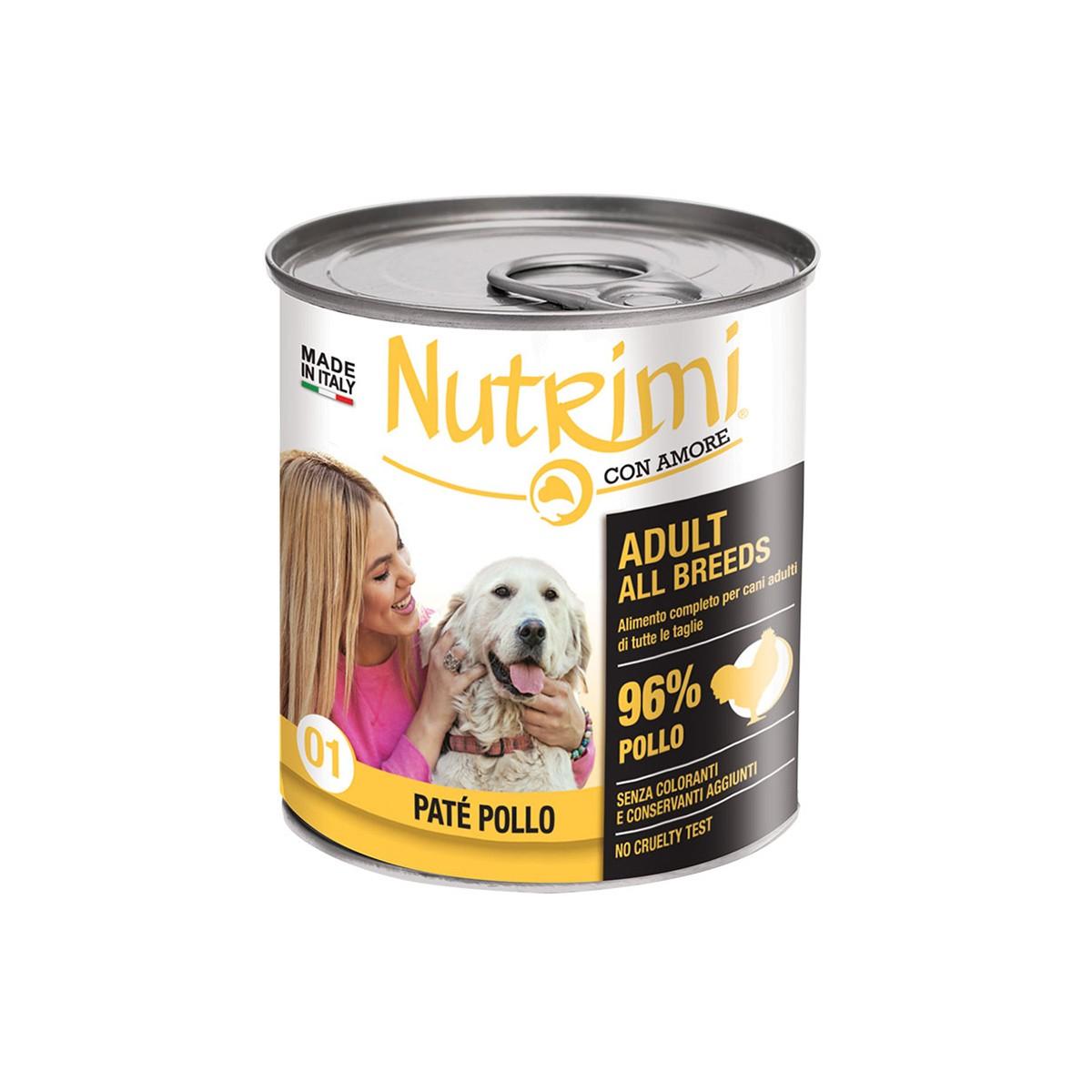 Nutrimi Pate' Adult Pollo 400 G