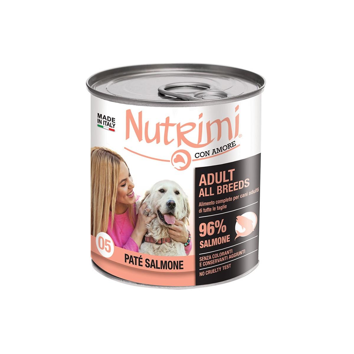 Nutrimi Pate' Adult Salmone 400 G