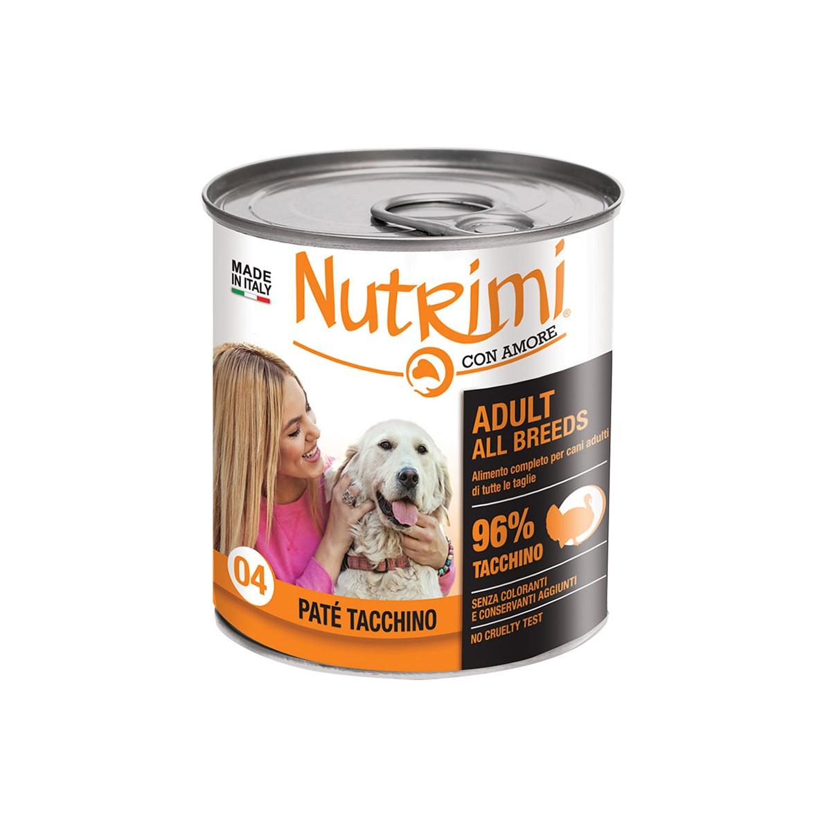 Nutrimi Pate' Adult Tacchino 400 G