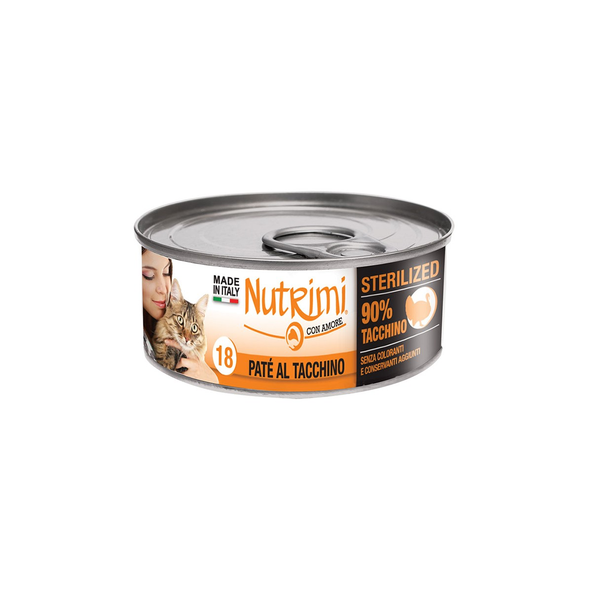 Nutrimi Pate' Sterilized Tacchino