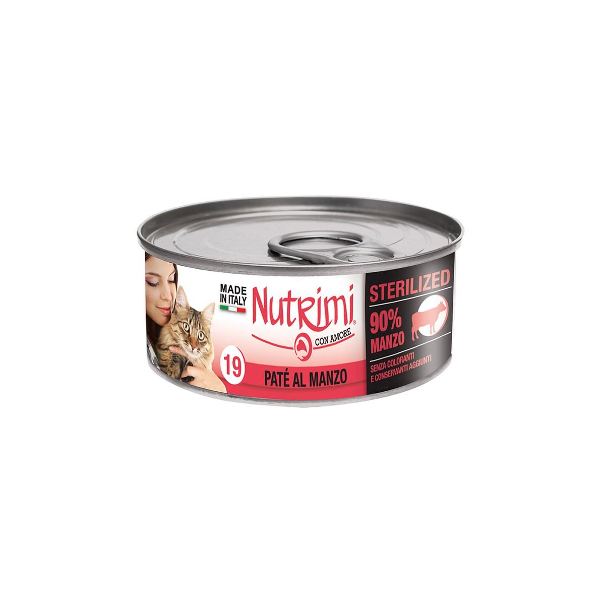 Nutrimi Pate' Sterilized Manzo