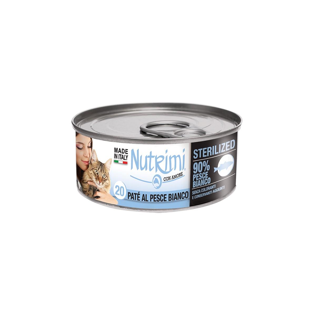 Nutrimi Pate' Sterilized Pesce