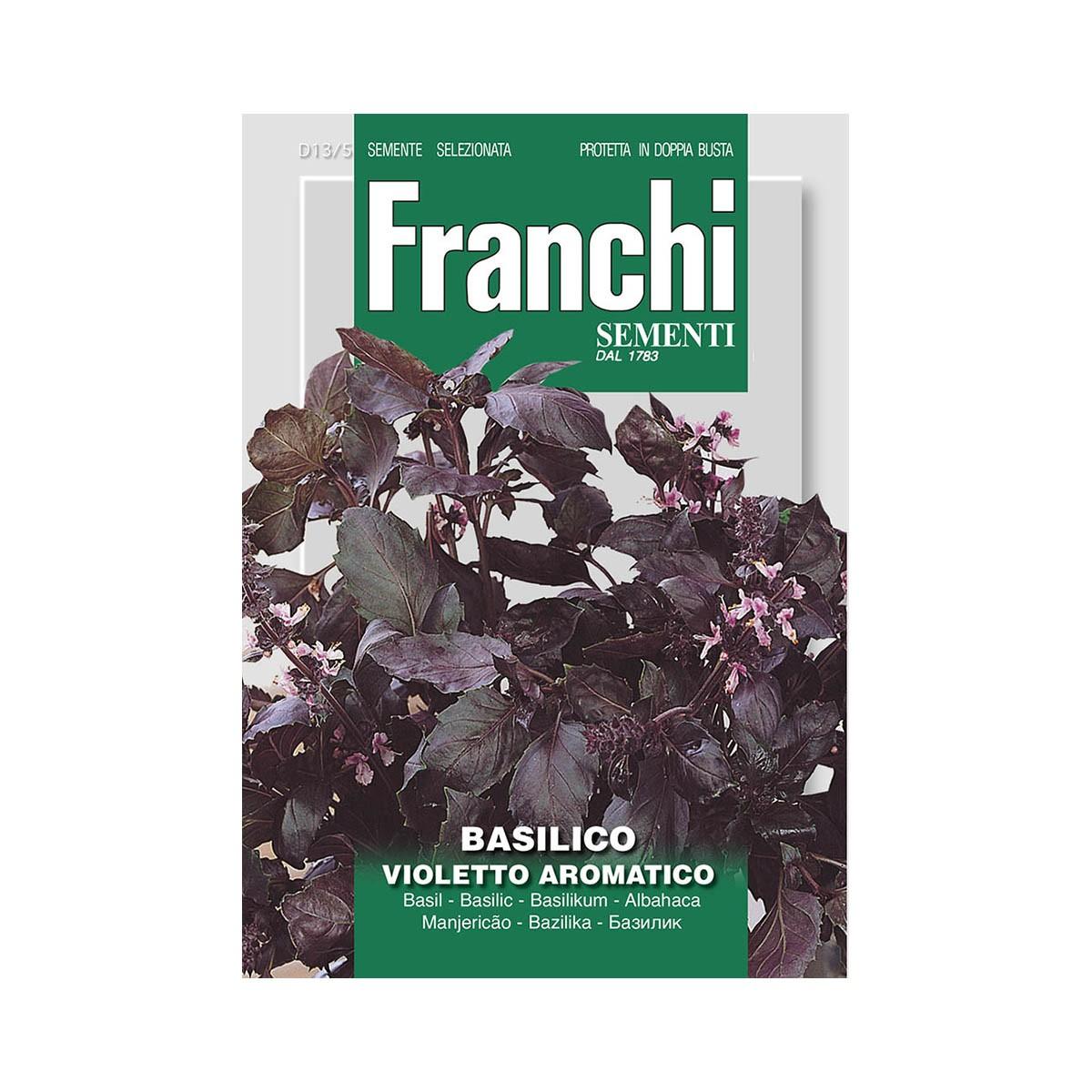 Semi Basilico Dark Opal - Violetto Aromatico