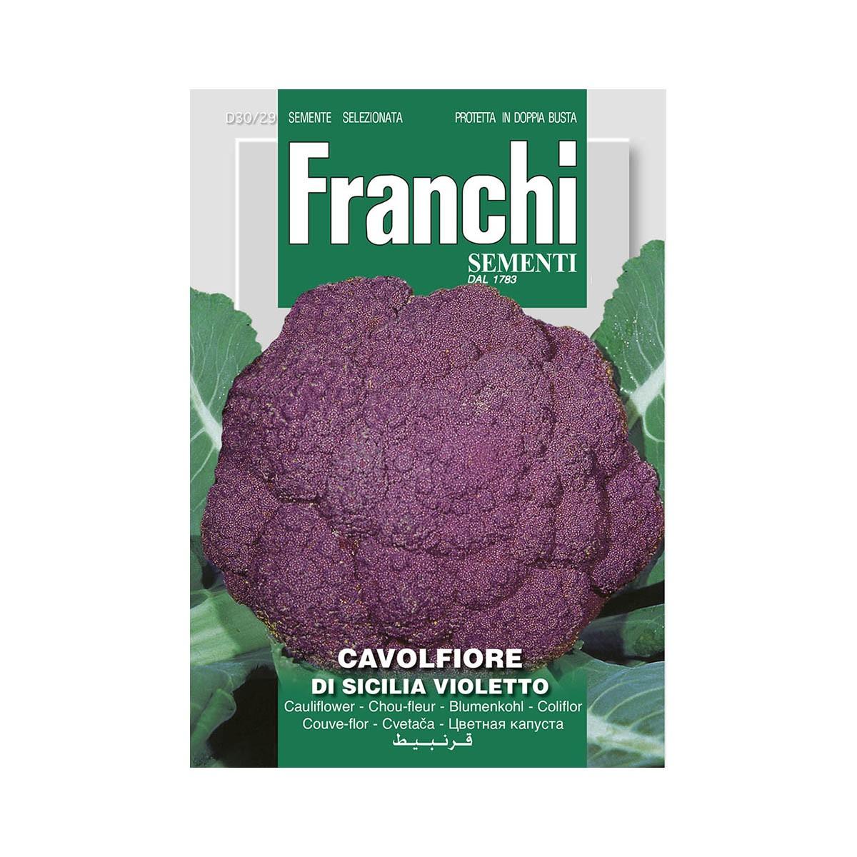 Semi Cavolfiore Di Sicilia Violetto