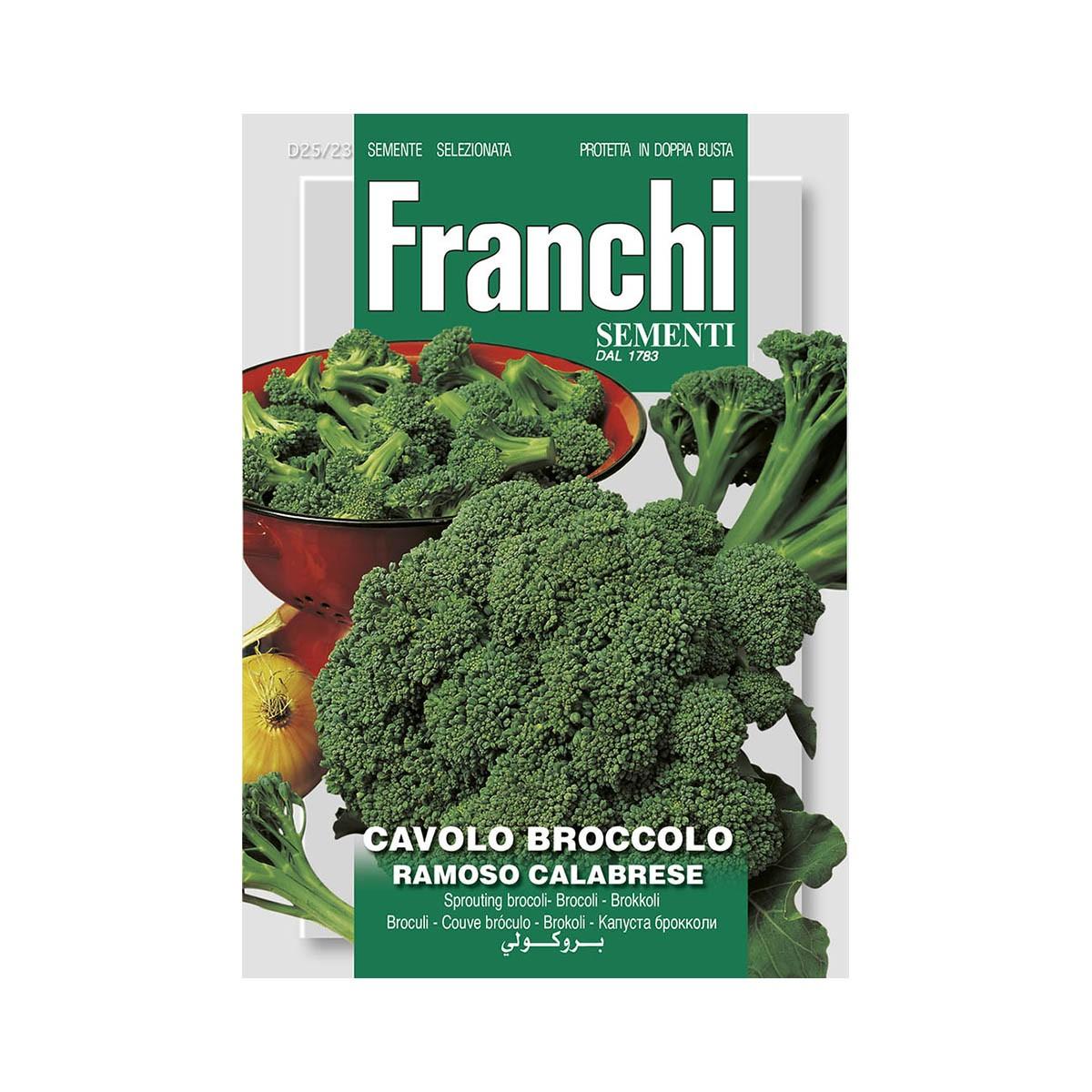 Semi Cavolo Broccolo - Ramoso Calabrese