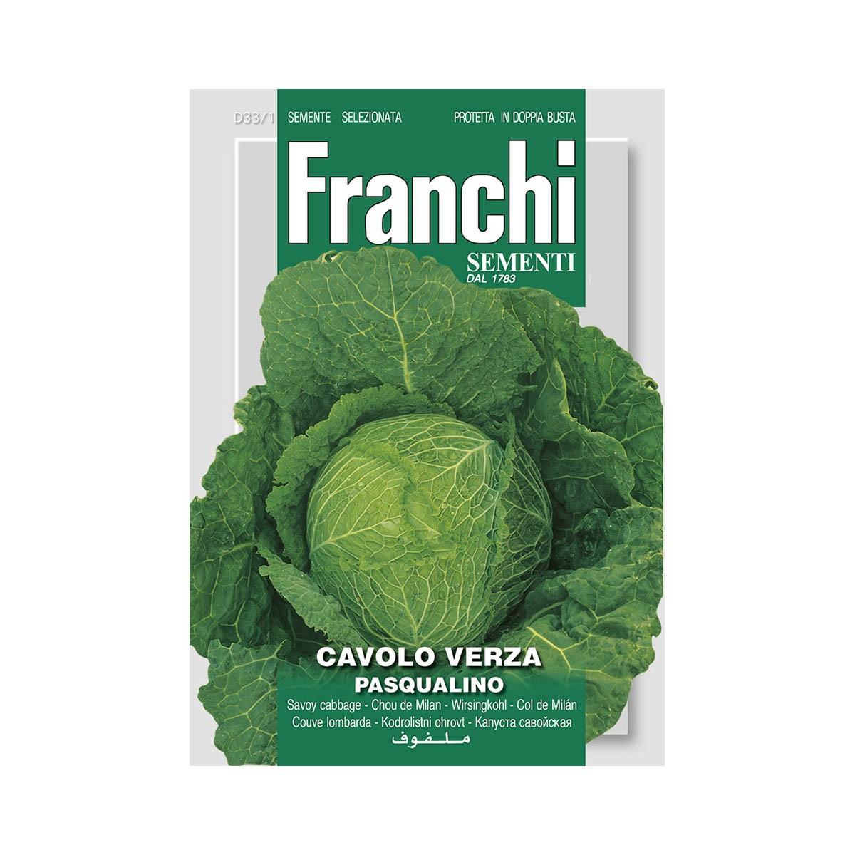 Semi Cavolo Verza Pasqualino