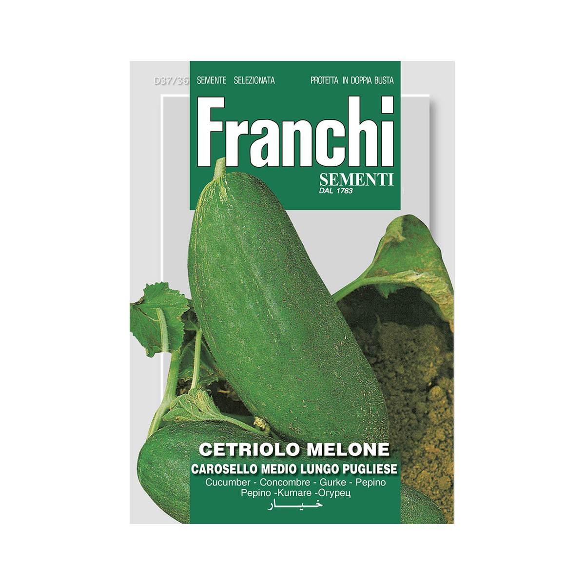 Semi Cetriolo Melone - Carosello