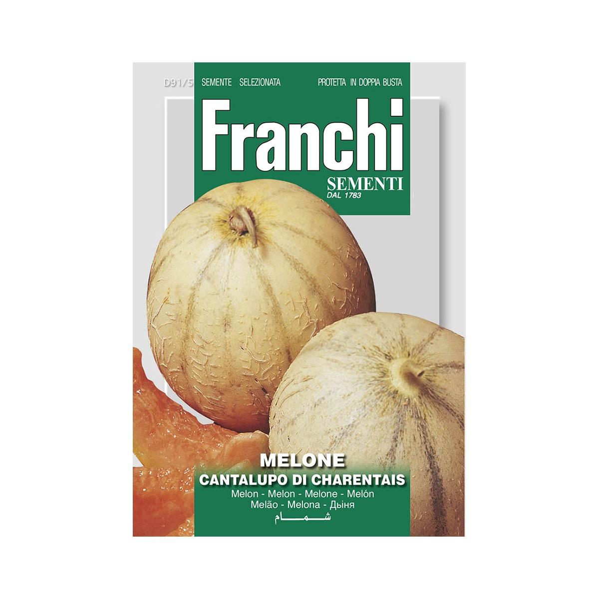 Semi Melone Cantalupo Di Charentais