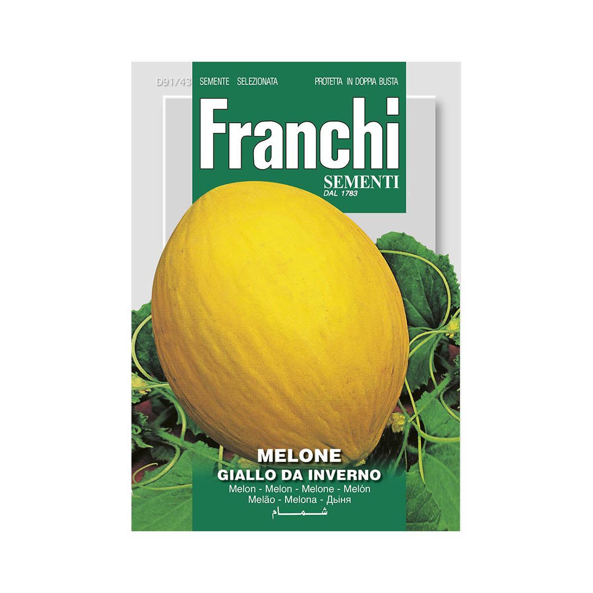 Semi Melone Giallo Da Inverno