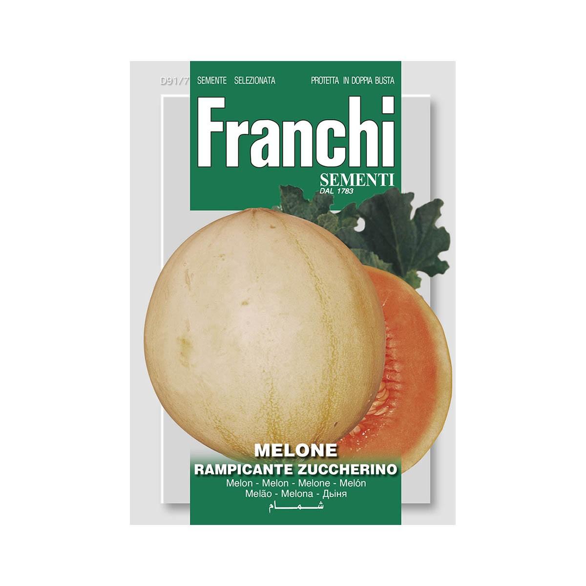 Semi Melone Rampicante Zuccherino