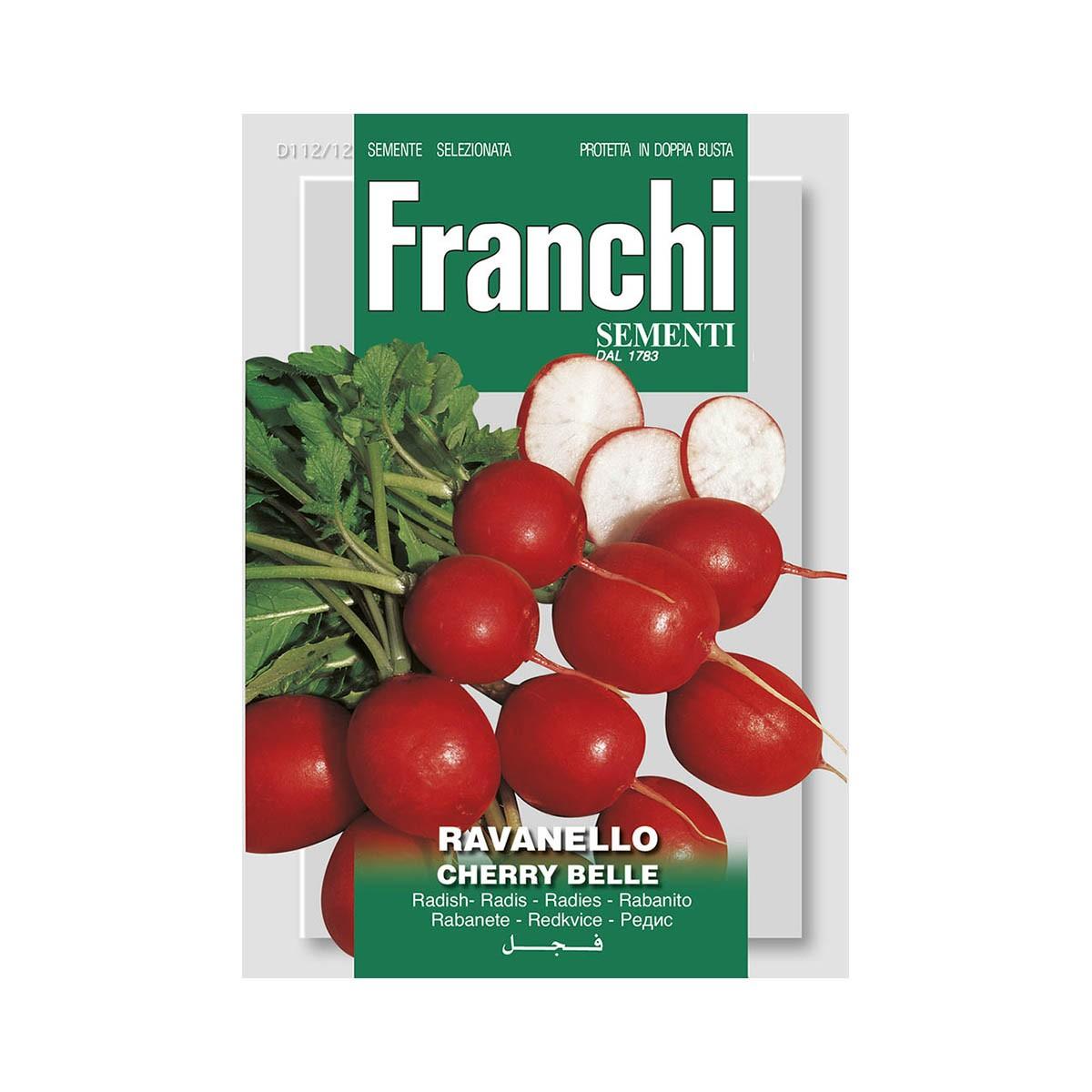 Semi Ravanello Cherry Belle